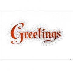 C009 Greetings – Season & NY