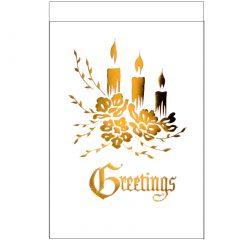 C013 Greetings – 3 XM Candles