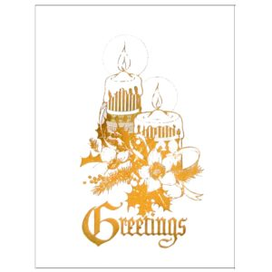 C015 Greetings – 2 XM Candles