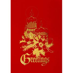C016 Greetings – 2 XM Candles